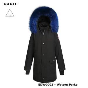 EDGII UGG EDW0002 中长款皮草羽绒派克服  6款颜色毛领可选 全防风防泼溅面料 男女同款 三色可选