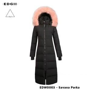 EDGII UGG EDW0003 长款皮草羽绒派克服  6款颜色毛领可选 全防风防泼溅面料 女款