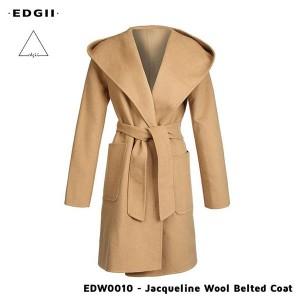 Edgii 双面尼短款羊毛大衣 EDW0010
